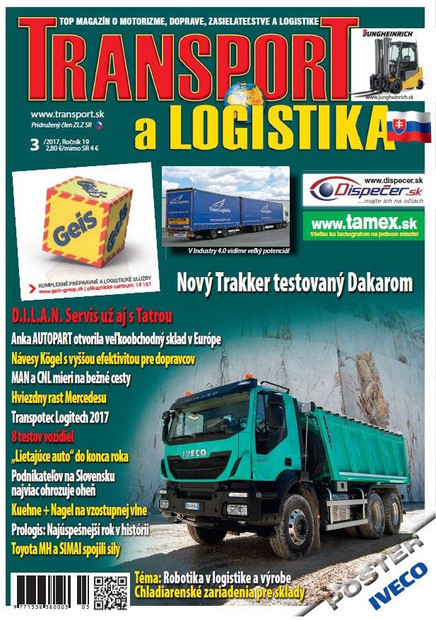Magazín TRANSPORT a LOGISTIKA - Vydanie 3/2017 - Obálka
