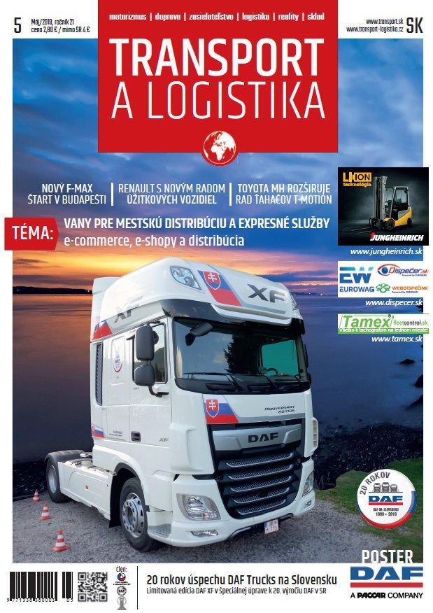 Magazín TRANSPORT a LOGISTIKA - Vydanie 5/2019 - Obálka