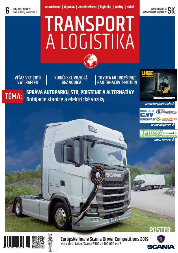 Magazín TRANSPORT a LOGISTIKA - Vydanie 6/2019 - Obálka