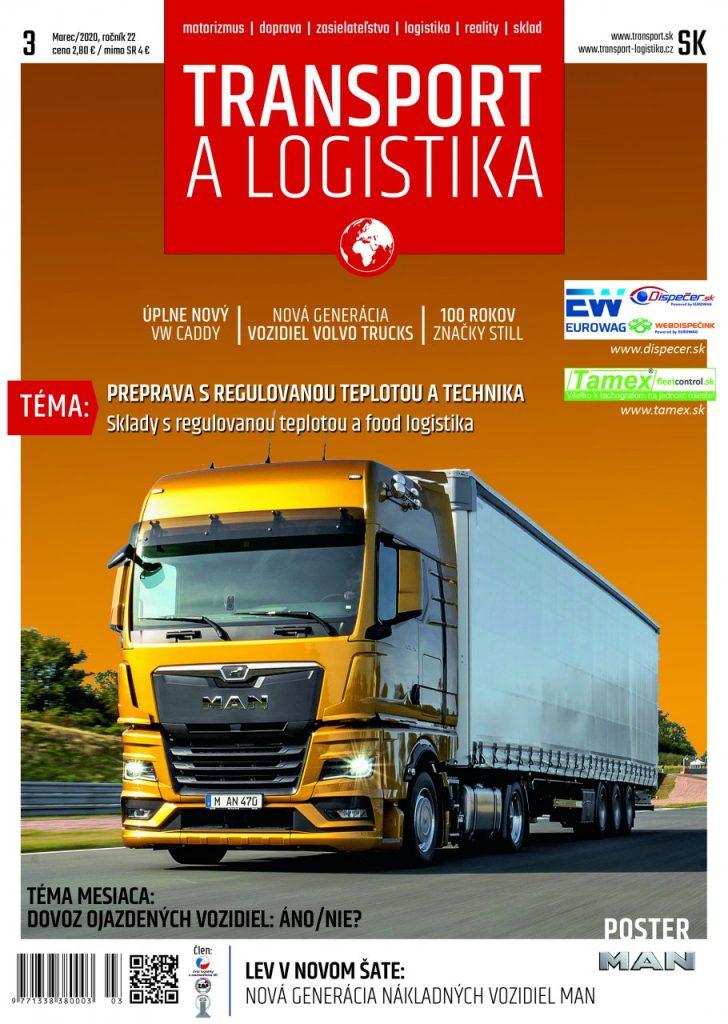 Magazín TRANSPORT a LOGISTIKA - Vydanie 3/2020 - Obálka