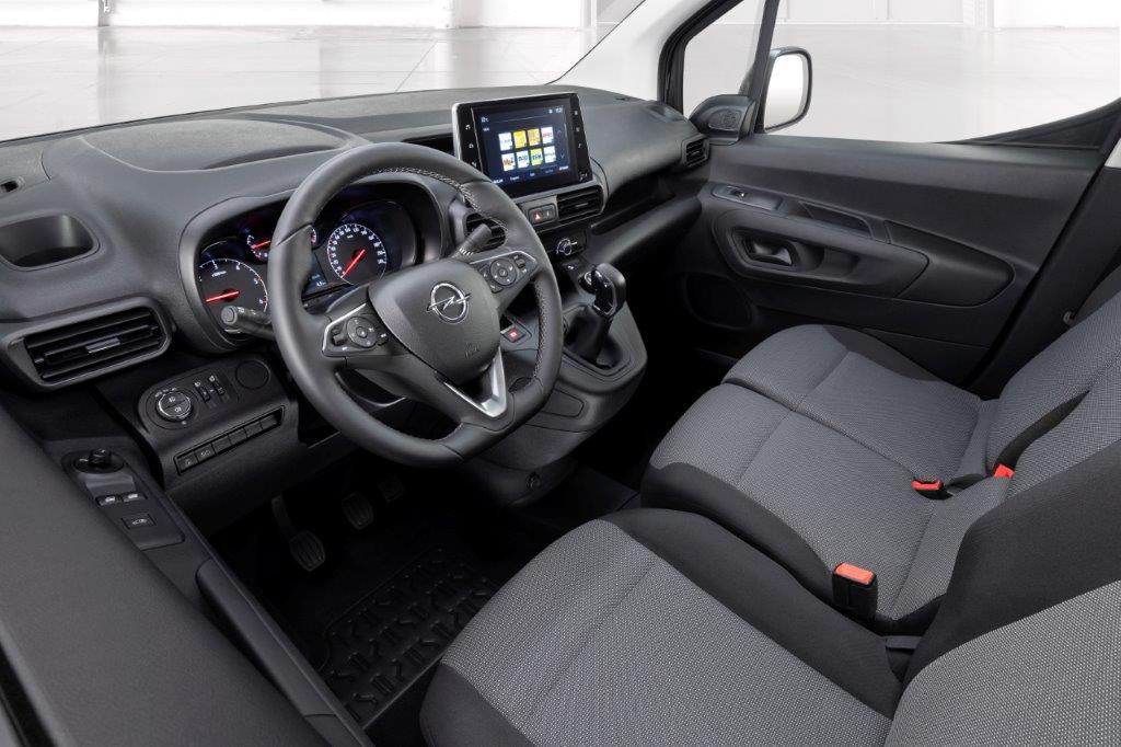 Opel Combo Van interiér