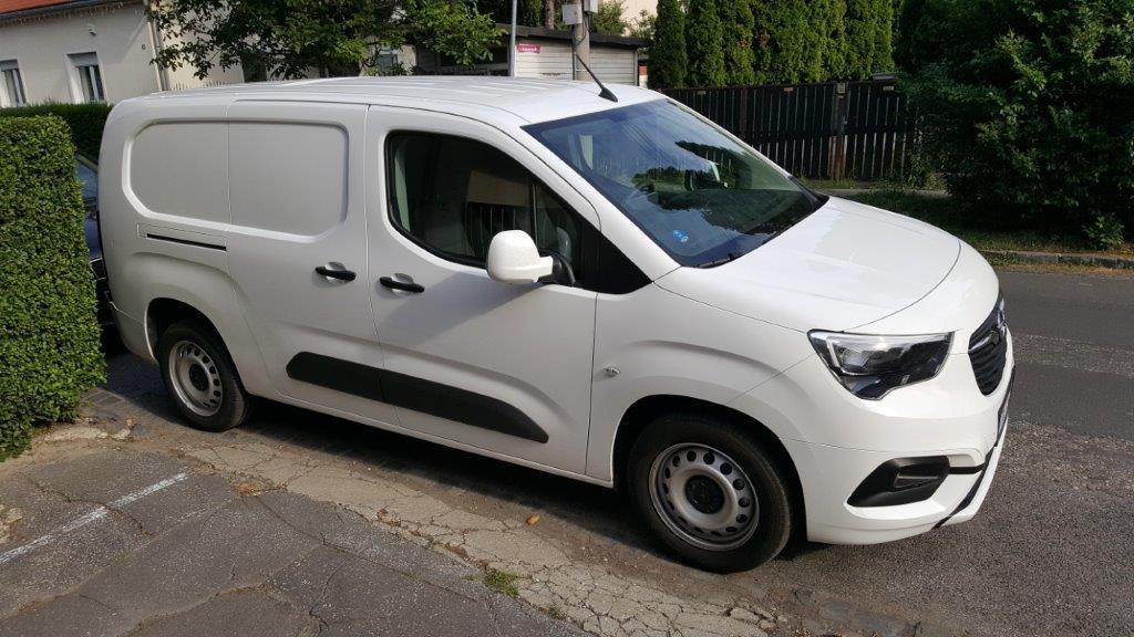 Opel Combo Van pohľad spredu