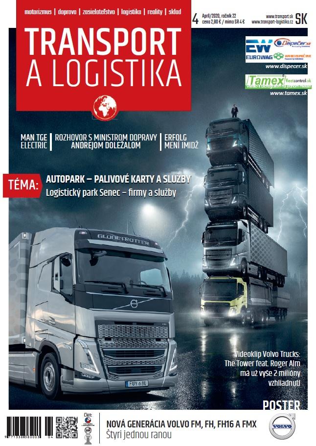 Magazín TRANSPORT a LOGISTIKA - Vydanie 4/2020 - Obálka