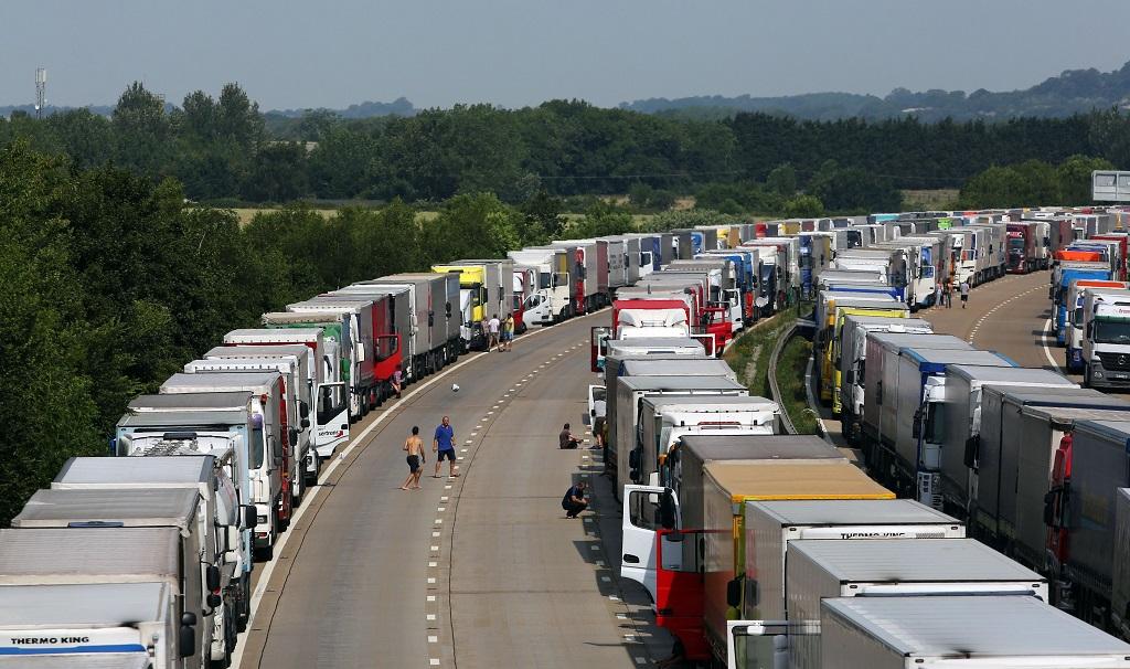 Štrajk v prístave Calais