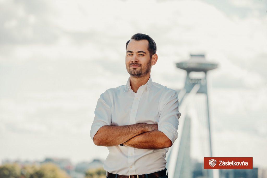 CEO spoločnosti Zásielkovňa, pán Alexander Jančo