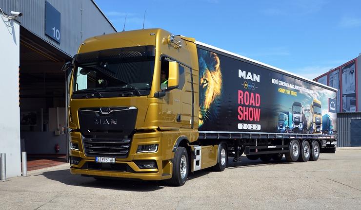 MAN TGX na MAN Road Show 2020