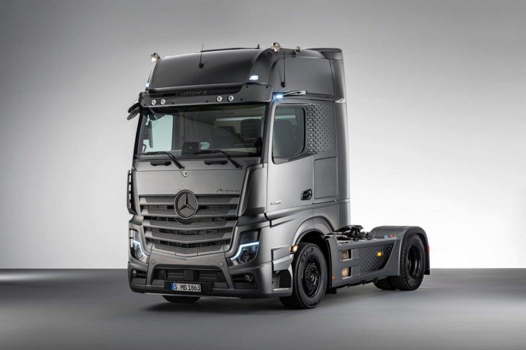 Mercedes-Benz Actros v limitovanej edícii Edition 2