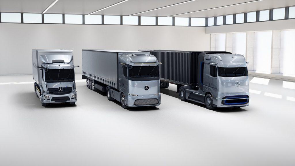 Daimler Trucks AG predstavil vozidlá budúcnosti