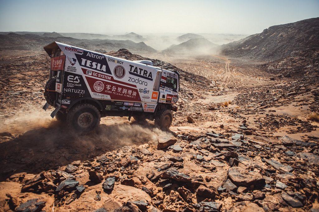 Bugyrra v tretej etape Dakaru 2021