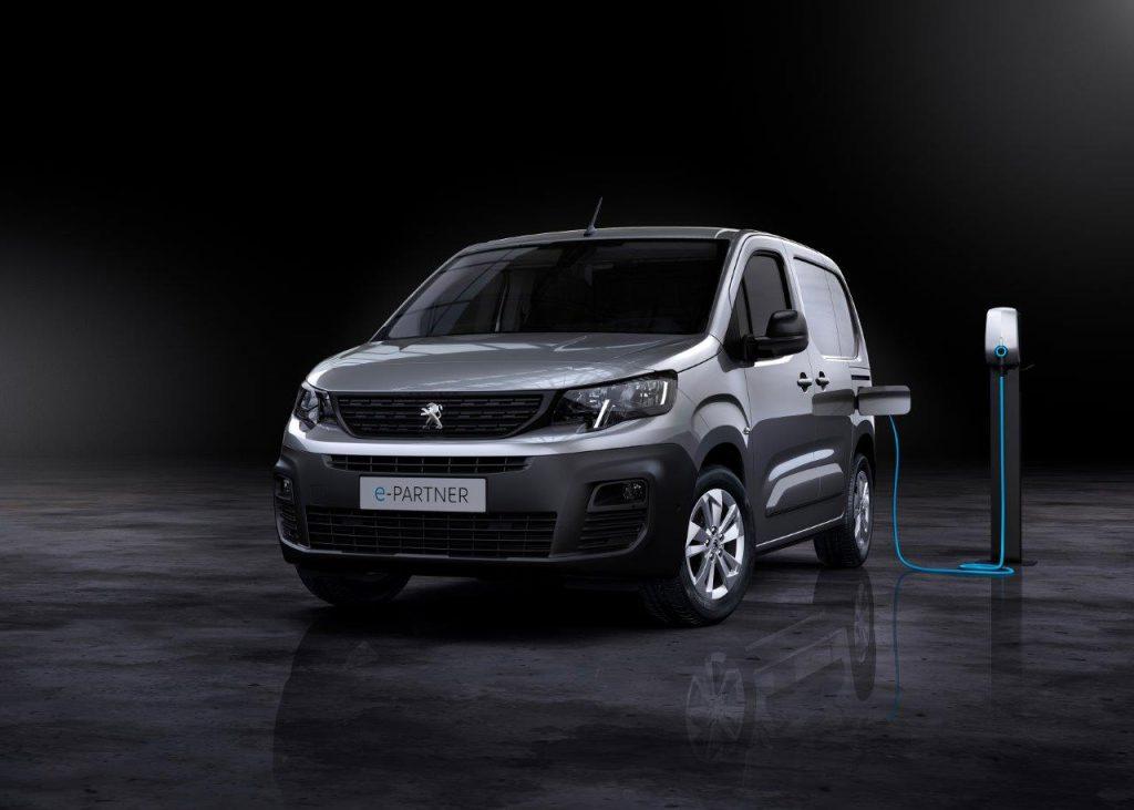 Nový elektrický Peugeot e-Partner