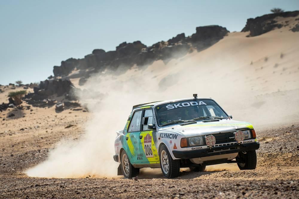 Škoda 130 LR na Dakare
