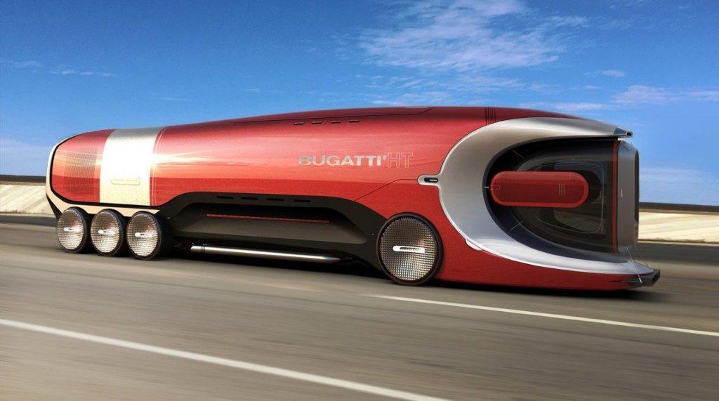 Náklaadné vozidlo Bugatti Hyper Truck