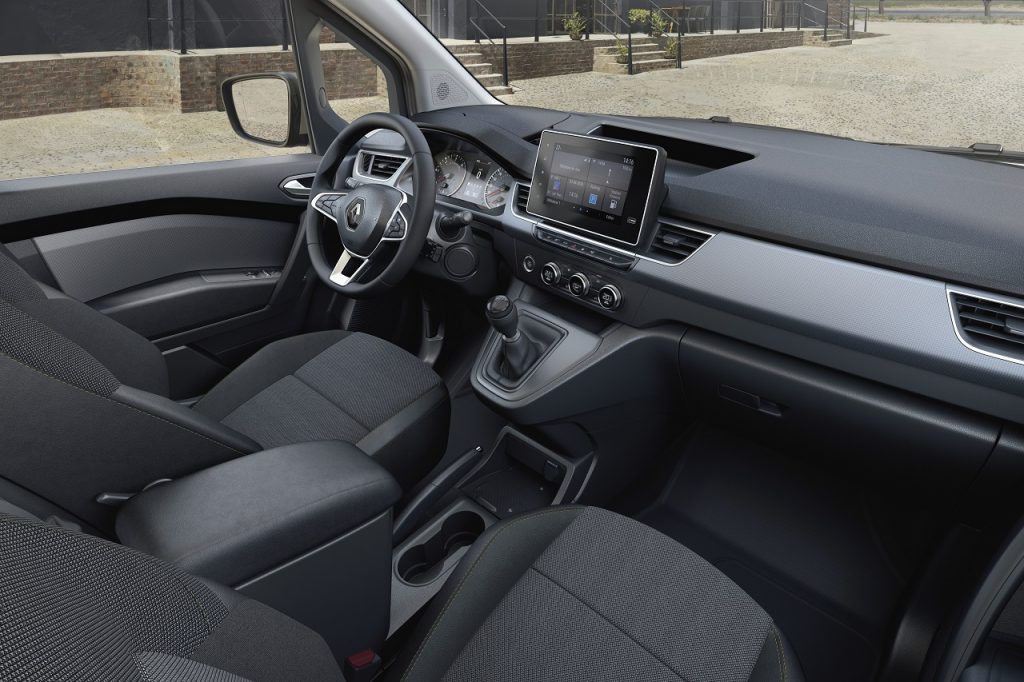 Interiér nového Kangoo Van