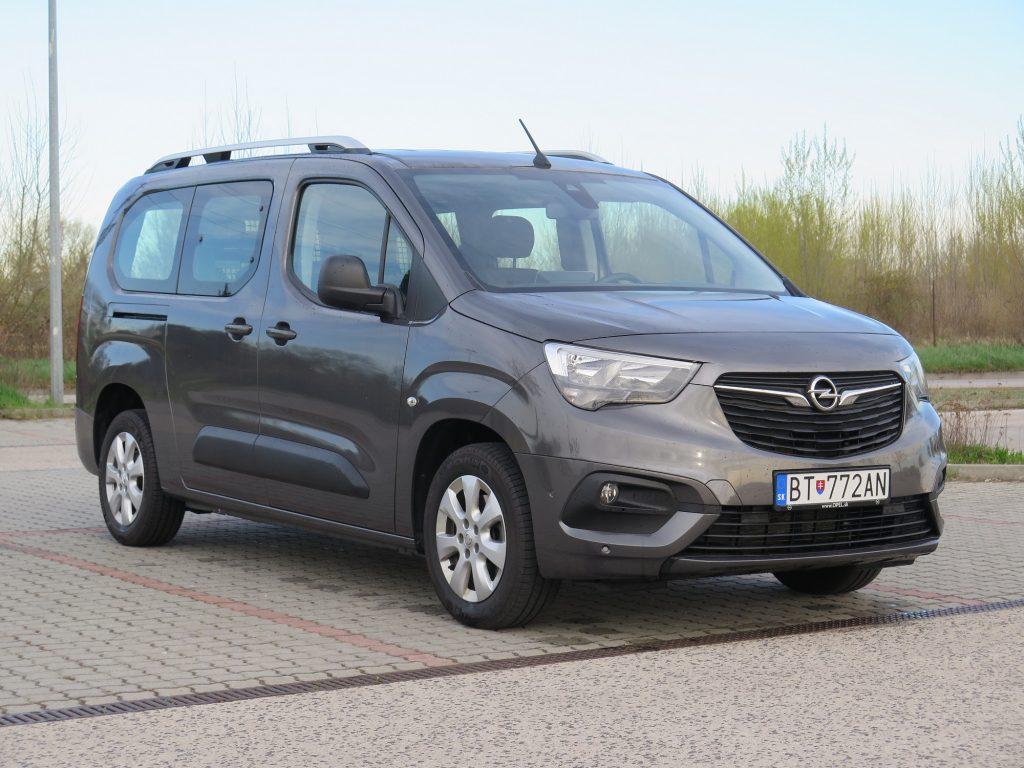 Test Opel Combo CrewVan XL
